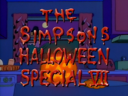 The Simpsons Halloween Special VII - Treehouse of Horror ...
